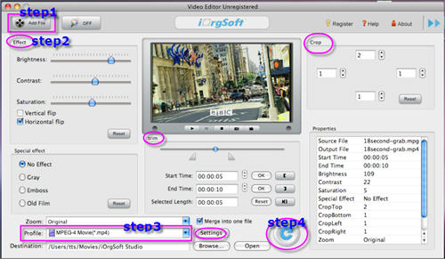 MPEG Converter for Mac