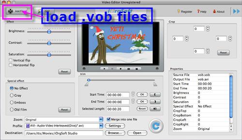 Mac VOB Editor